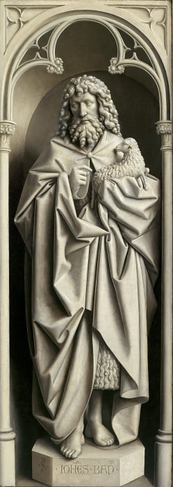 St. John the Baptist. Jan van Eyck