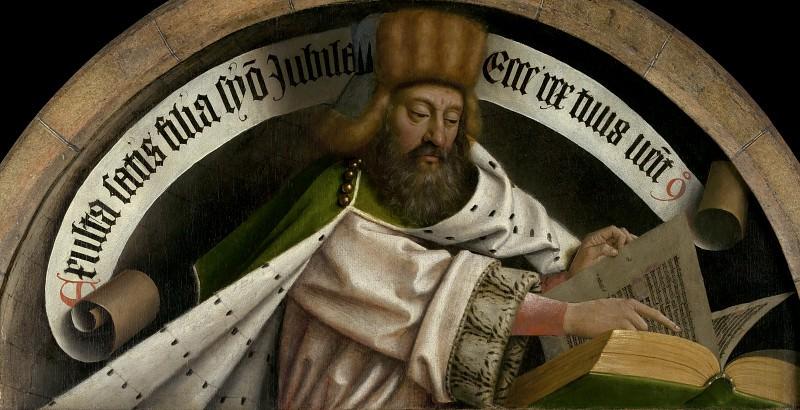 Prophet Zacharias. Jan van Eyck
