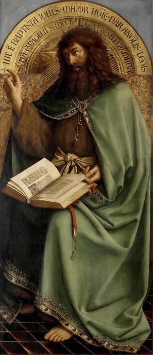 St John the Baptist. Jan van Eyck