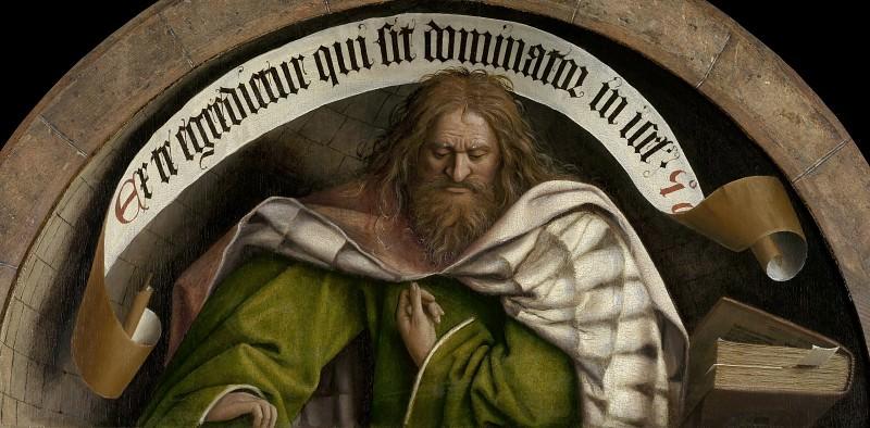 Prophet Micheas. Jan van Eyck