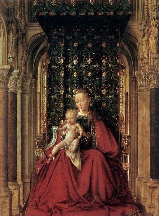 Дрезденский триптих (фрагмент). Ян ван Эйк