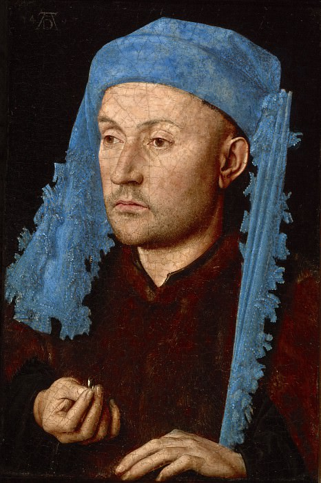 Man with Ring. Jan van Eyck