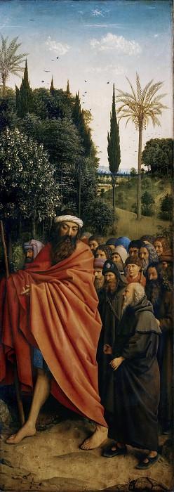 The Holy Pilgrims. Jan van Eyck