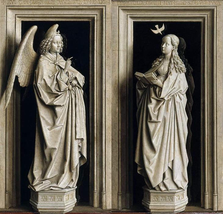 Annunciation. Jan van Eyck
