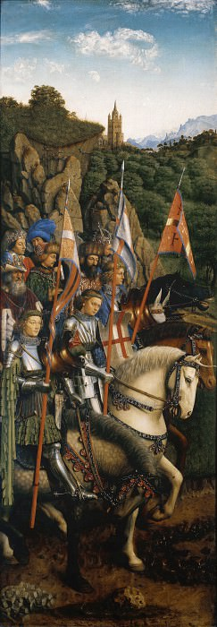 The knights of Christ. Jan van Eyck