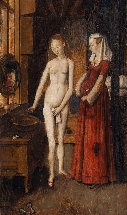 Madonna and Child at the Fountain (after the lost original). Jan van Eyck