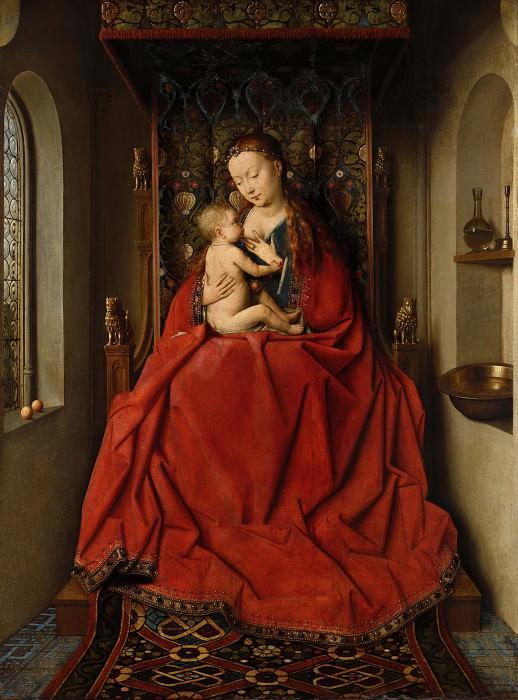 Lucca Madonna. Jan van Eyck