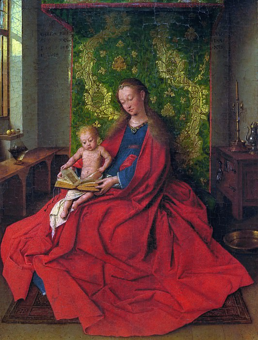 Madonna and Child (copy). Jan van Eyck