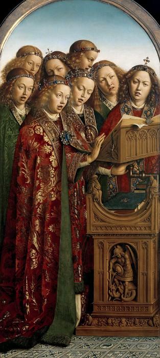 Поющие ангелы. Ян ван Эйк