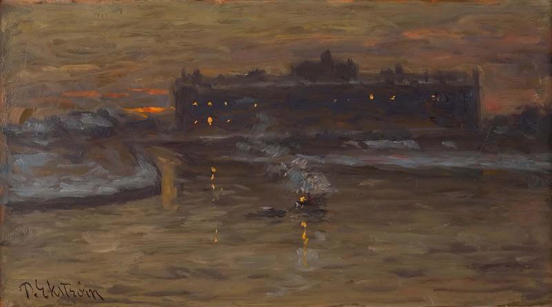 Зимняя ночь в Стокгольме. Пер Экстрём