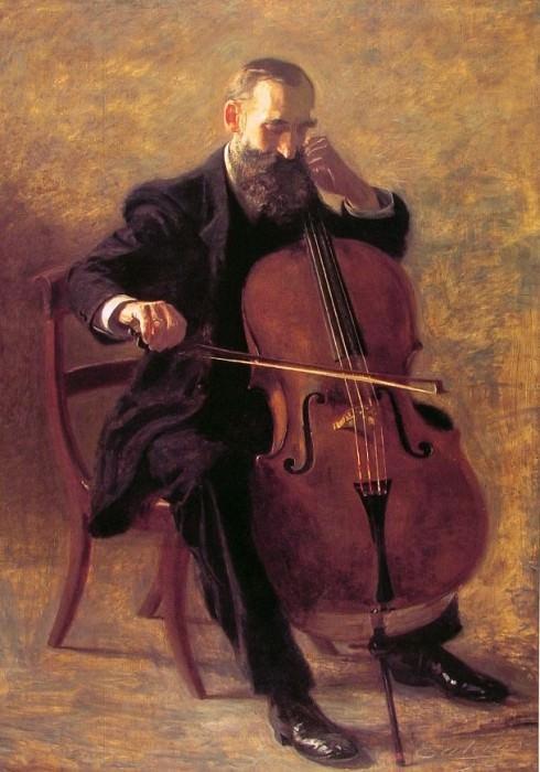 The Cello Player. Thomas Eakins