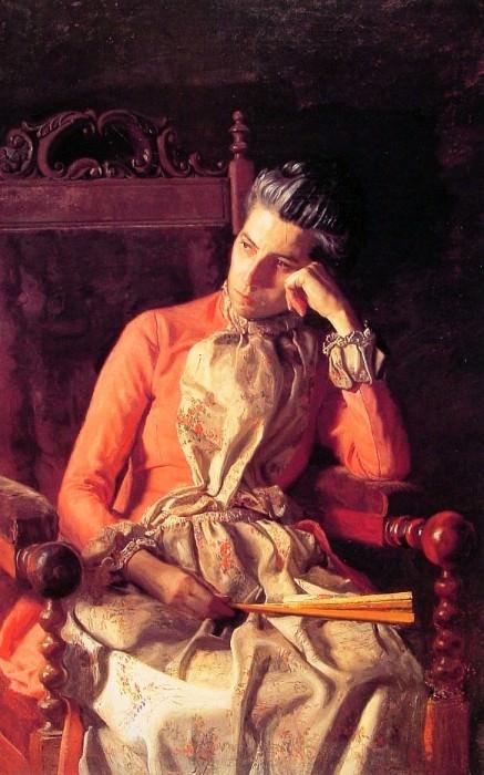 Miss Amelia van Buren. Thomas Eakins