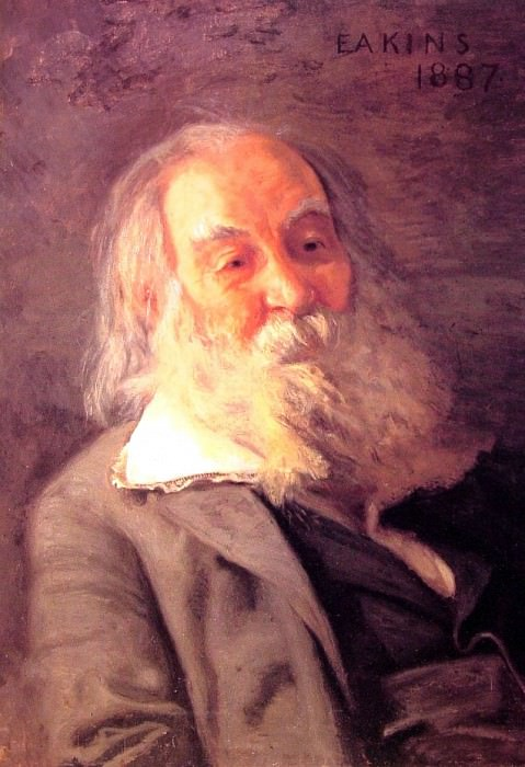 Walt Whitman. Thomas Eakins