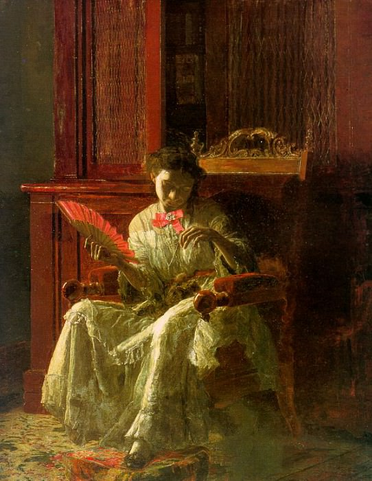 Kathrin, 1872, oil on canvas, Yale University Art Gal. Thomas Eakins