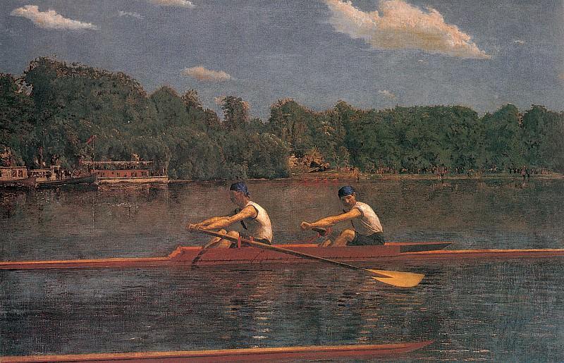 The Biglin Brothers Racing. Thomas Eakins