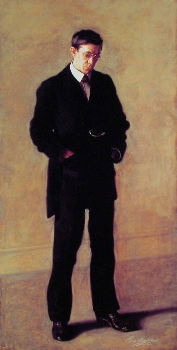 The Thinker. Thomas Eakins