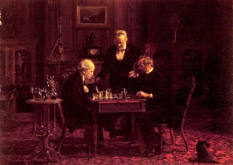 The Chess Players. Thomas Eakins
