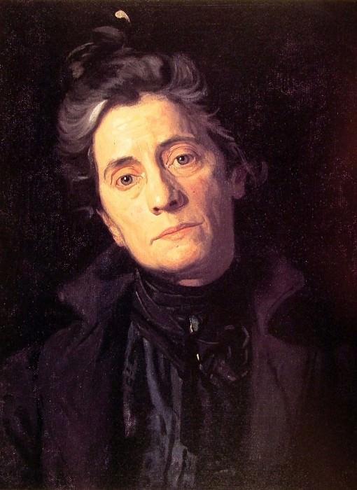 Mrs Thomas Eakins. Thomas Eakins