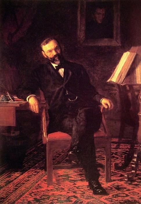 Dr John H Brinton. Thomas Eakins