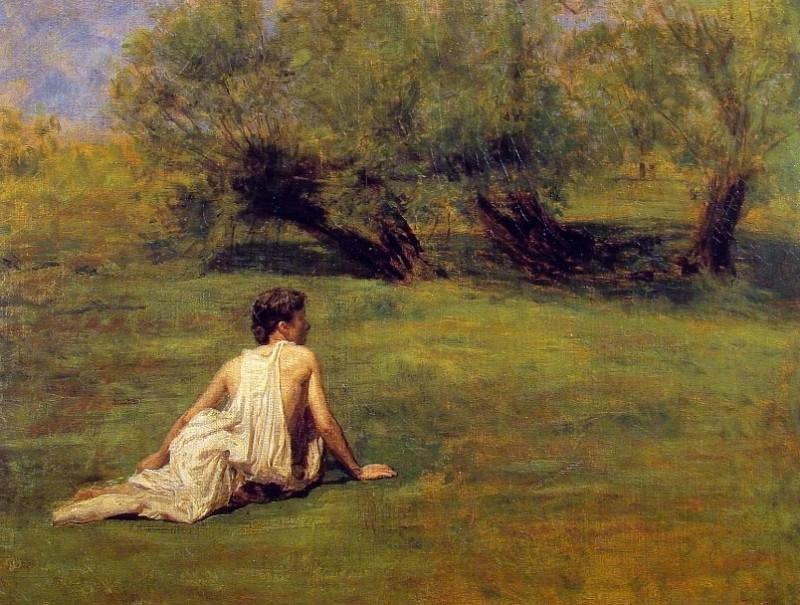 An Arcadian. Thomas Eakins