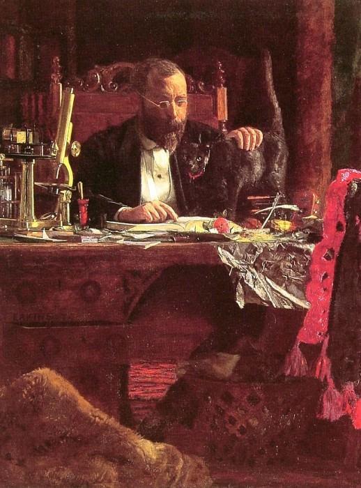 Professor Benjamin Howard Rand. Thomas Eakins
