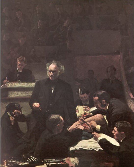 The Gross Clinic(1875). Thomas Eakins