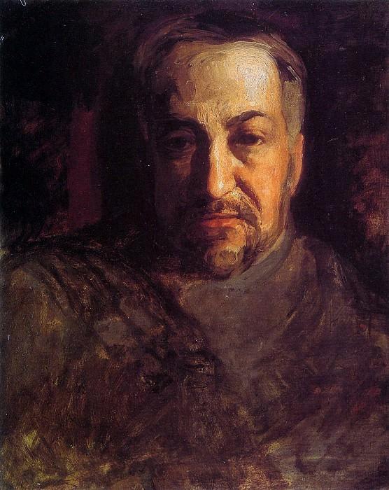 Self portrait. Thomas Eakins