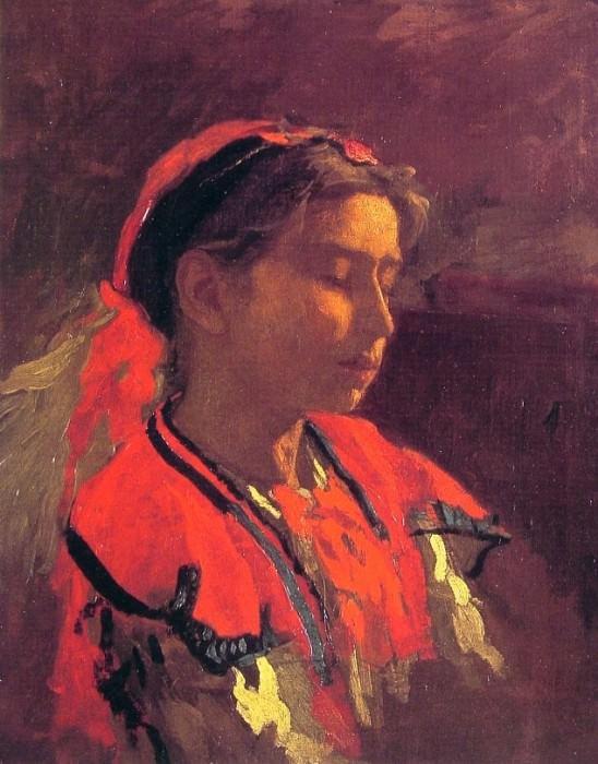 Carmelita Requena. Thomas Eakins