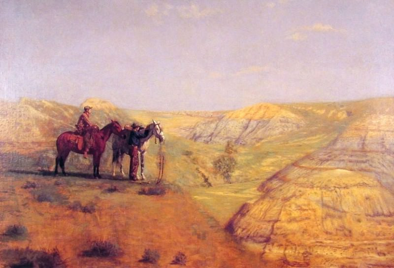 Cowboys in the Bad Lands. Thomas Eakins