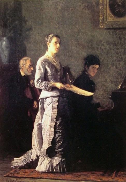 The Pathetic Song. Thomas Eakins