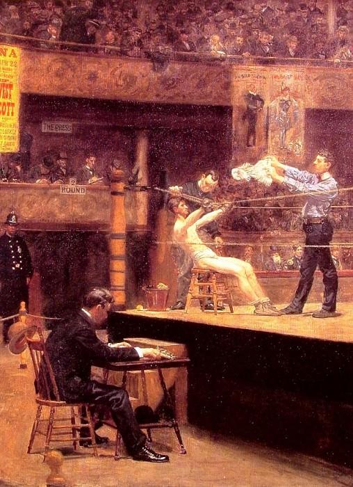 Between Rounds. Thomas Eakins