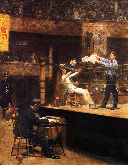 In the mid time. Thomas Eakins