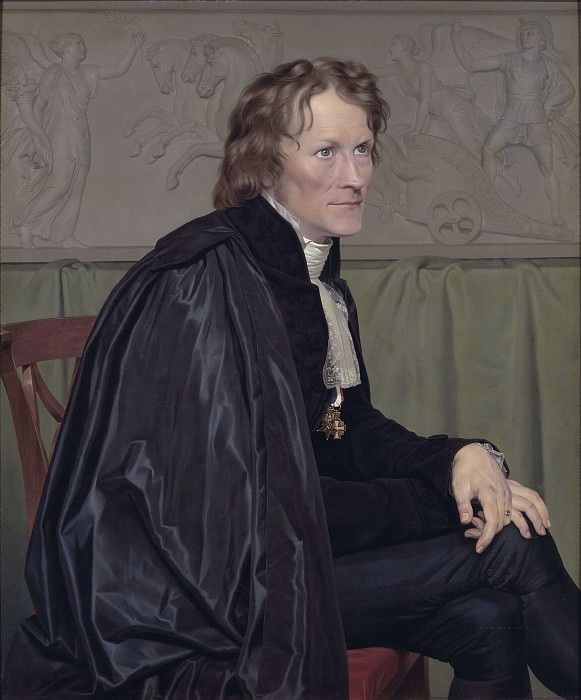 Bertel Thorvaldsen, the Danish Sculptor. Christoffer Wilhelm Eckersberg