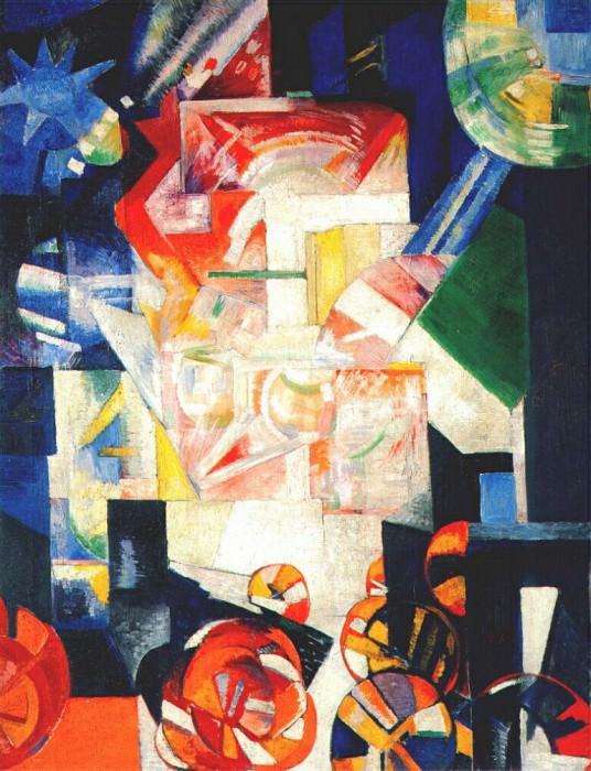 composition 1914. Exter