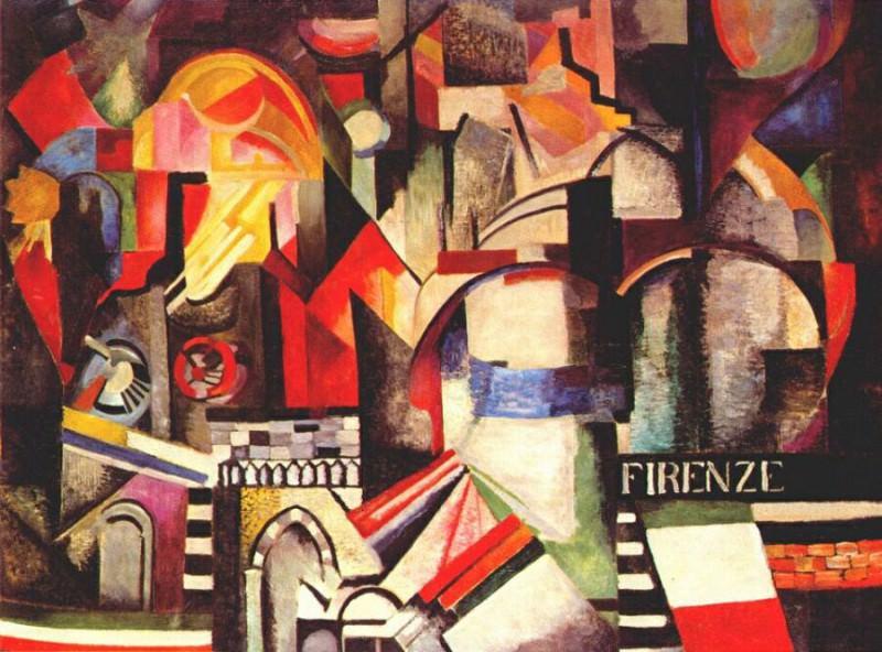 florence 1914-15. Exter