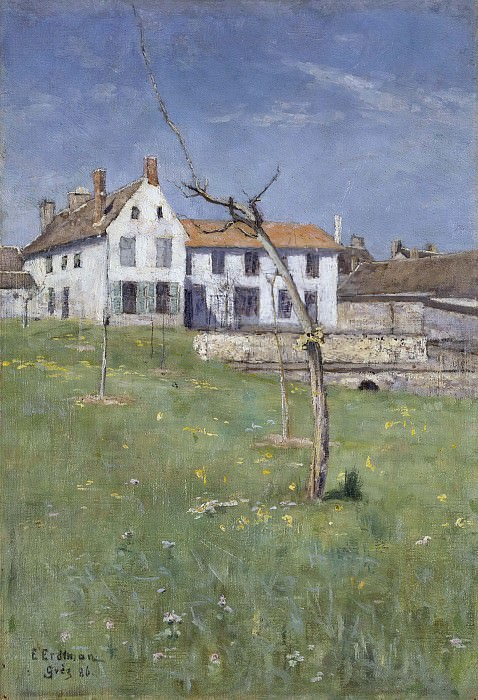 The Laurent Boarding House, Grez-sur-Loing. Elias Erdtman