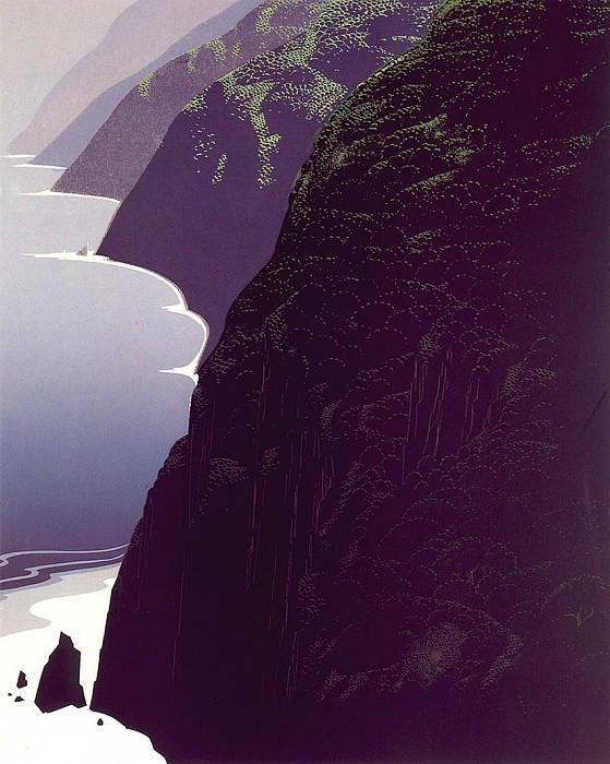 lrs Earle Eyvind Big Sur Coastline. Эйвинд Эрл
