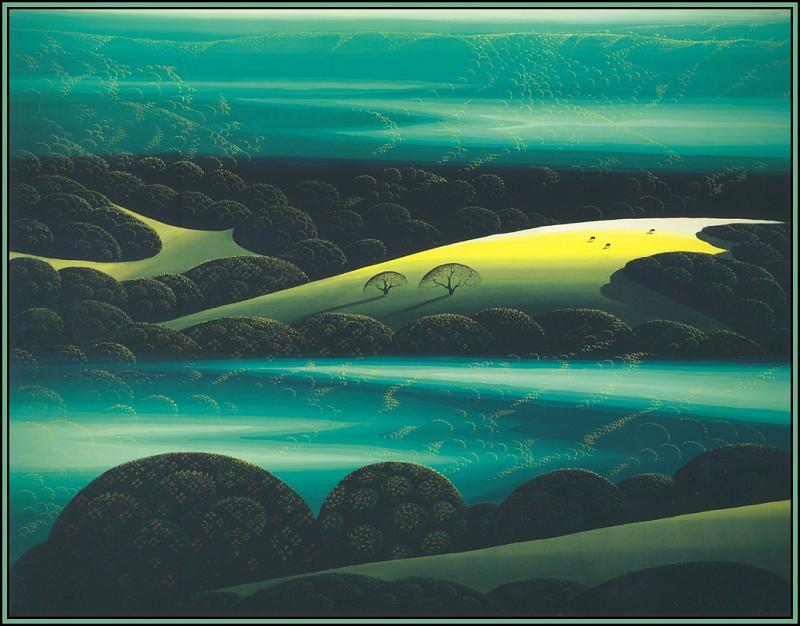 Emerald Dawn. Eyvind Earle