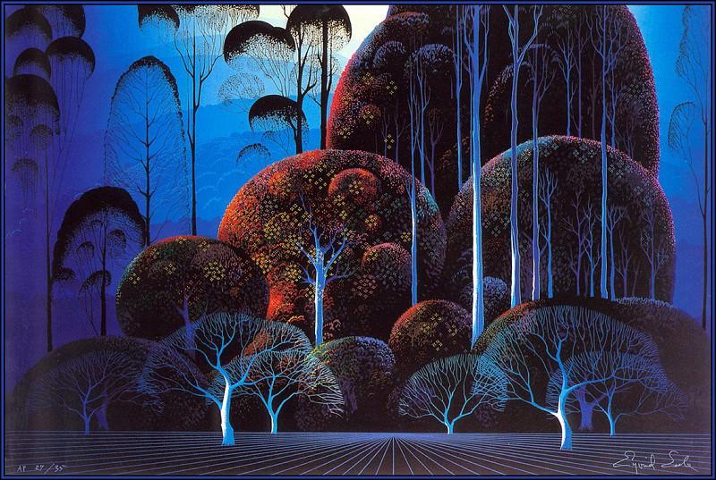 Enchanted Forest. Eyvind Earle
