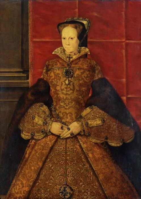 Queen Mary I. Hans Eworth (Ewoutsz)
