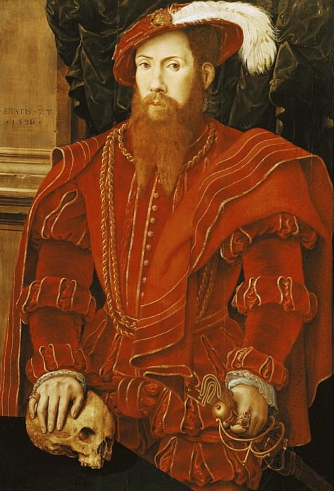 Portrait of a Gentleman of the English Court. Hans Eworth (Ewoutsz)