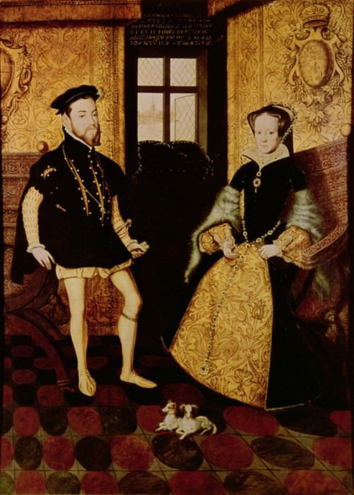 Philip II and Mary I. Hans Eworth (Ewoutsz)