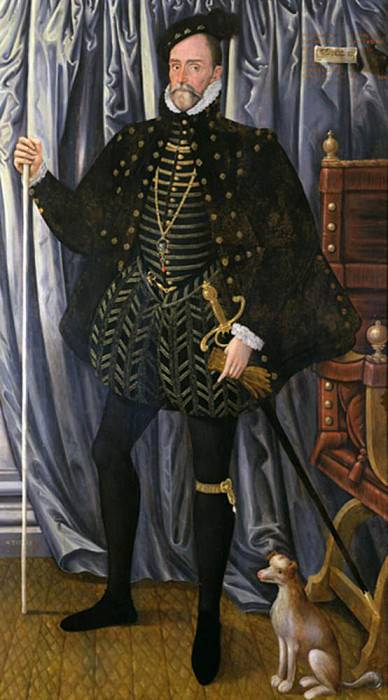 The 1st Earl of Pembroke, (c.1501-70). Hans Eworth (Ewoutsz)