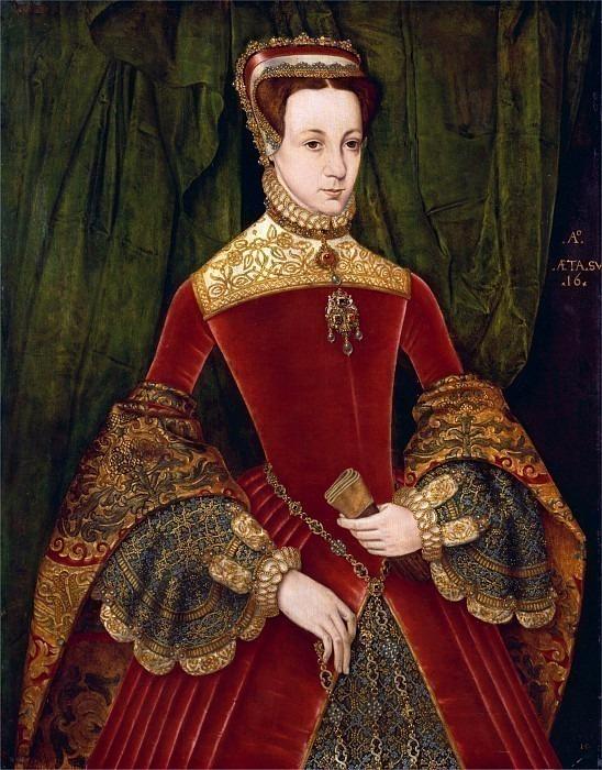 Женщина, 16 лет, ранее идентифицирована как Мэри Фицалан, герцогиня Норфолка. Ганс Эворт