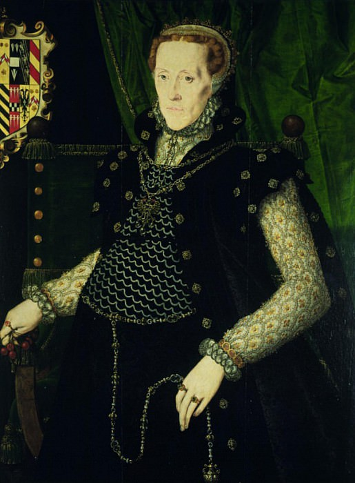 Mildred, Lady Burghley. Hans Eworth (Ewoutsz)