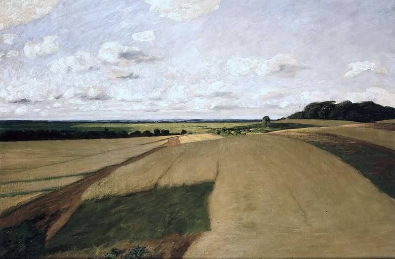 Landscape in Weyersberg. Hans am Ende