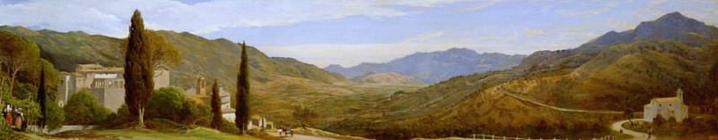 Panoramic View near Rome. Sir Charles Lock Eastlake