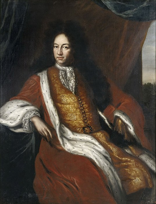 Carl Piper (1647-1716), Count. David Klöcker Ehrenstråhl (After)