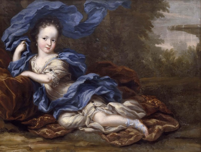 Хедвиг София (1681-1708), принцесса Швеции, герцогиня Гольштейн-Готторп. Давид Клёккер-Эренстраль (Приписывается)