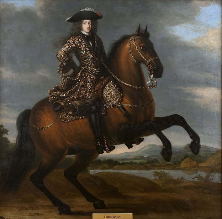 Fredrik IV (1671-1702), Duke of Holstein-Gottorp, gm Hedvig Sofia, Princess of Sweden. David Klöcker Ehrenstråhl (Attributed)